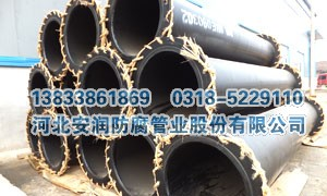 煤矿井下用正负压通风钢塑复合道